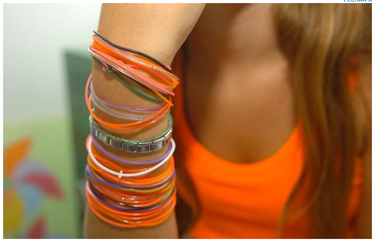... sex bracelets) and according to the game that revolves around them, ...